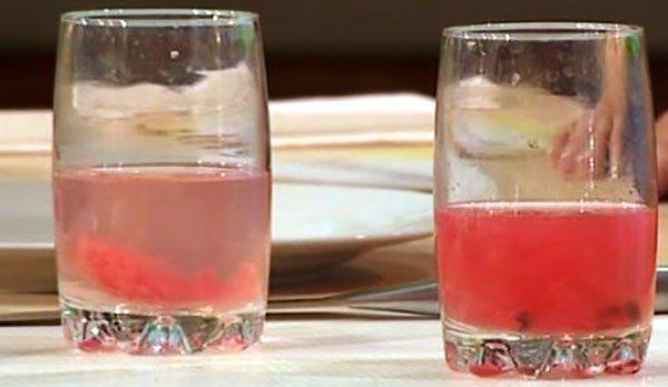 эксперимент с арбузом
