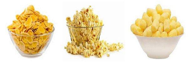 продукты в которых содержится кукуруза