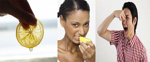 аллергия на запах лимона
