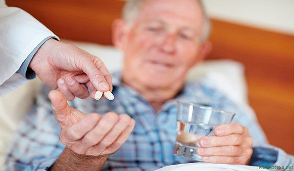 фексофенадин и пожилой человек