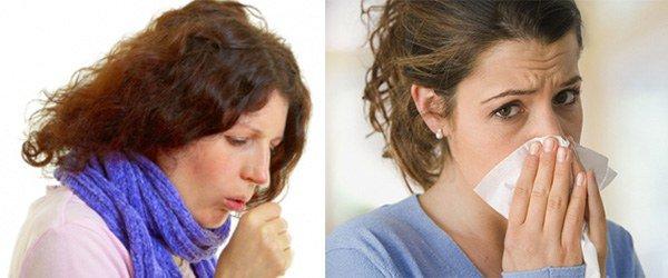 поражение дыхательных путей при аллергии