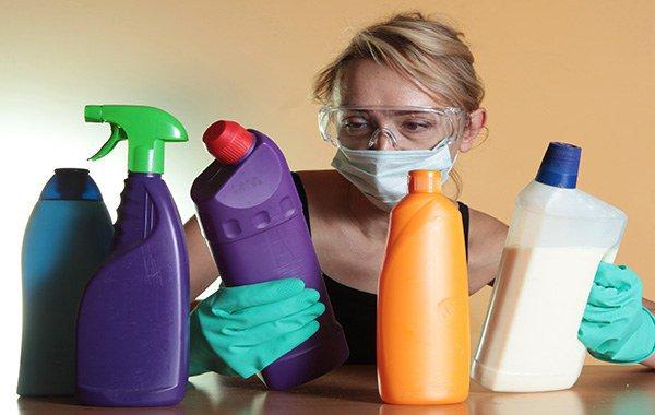 Аллергия на моющие средства симптомы