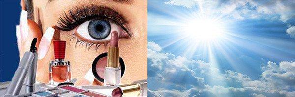 косметика и солнце как причины аллергии