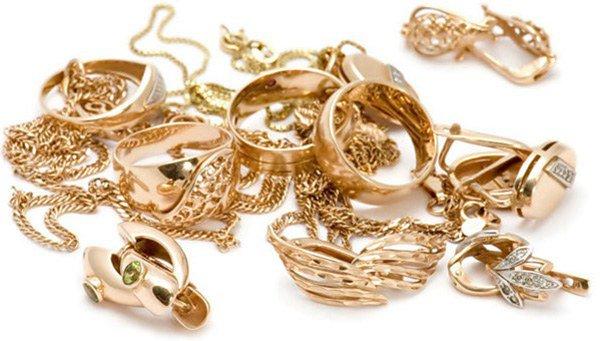 золотые украшния