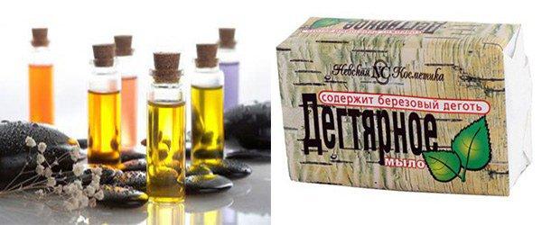 эфирные масла в мыле как причина аллергии