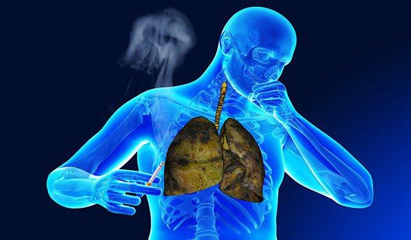курение провоцирует приступ астмы