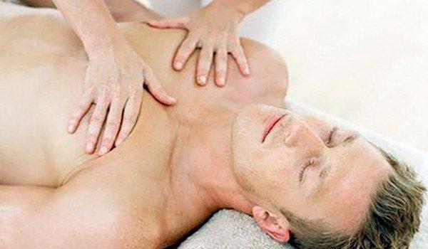 массаж грудины