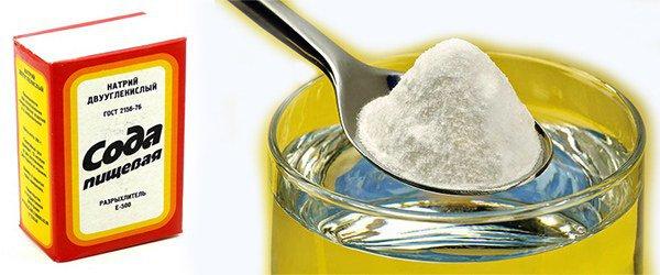 сода для устранения приступа астмы