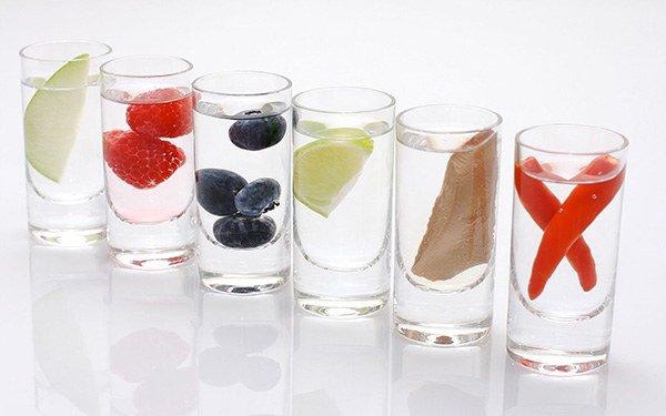 дополнительные компоненты, входящие в состав водки