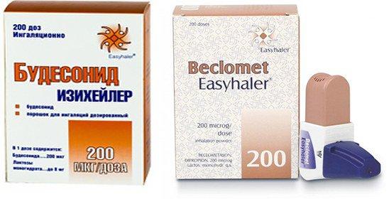лекарства для контроля бронхиальной астмы