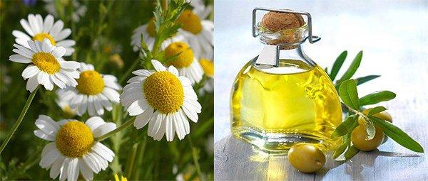 мазь из ромашки и оливкового масла