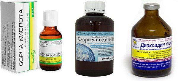 асептики при пиодермии