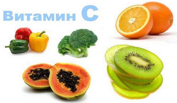 пища с витамином с