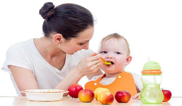изменение питания ребенка