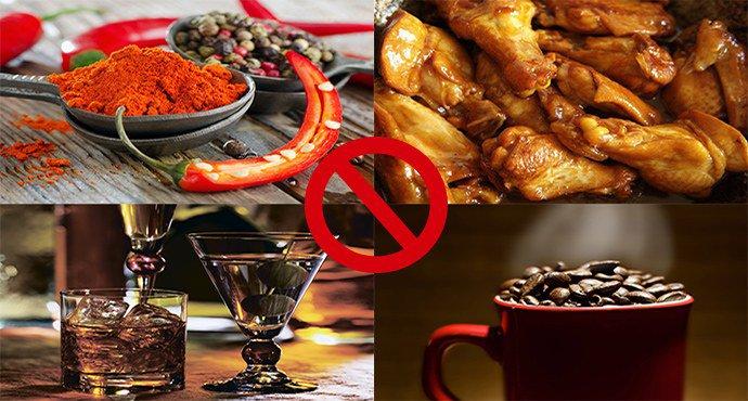 запрещенные продукты при псоризе