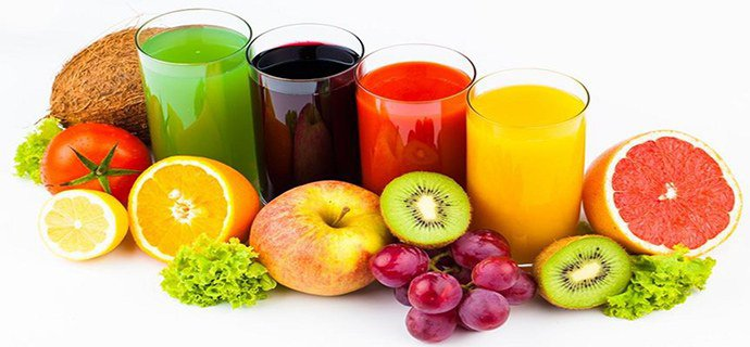 свежевыжатые фруктовые соки