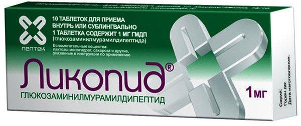 Ликопид при псориазе