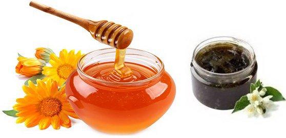мед и березовый деготь