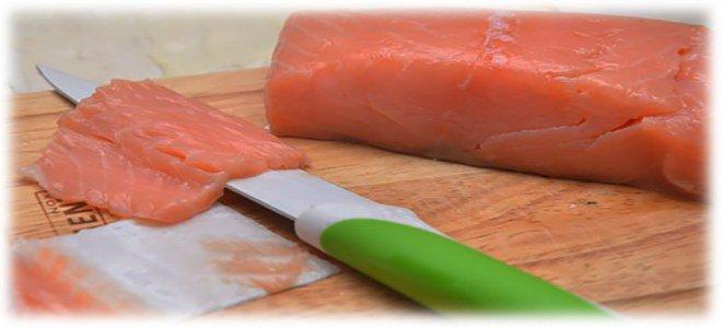 некачественная красная рыба
