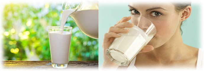 молоко с березовым дегтем