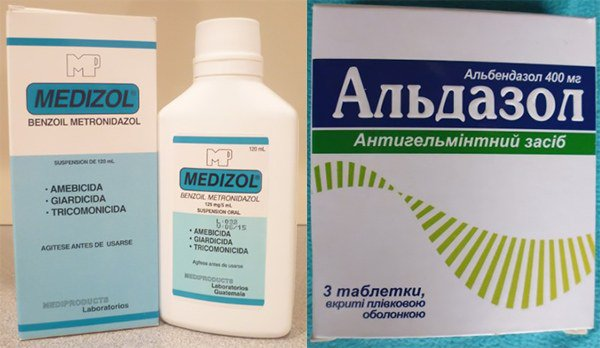 Медизол, Альдазол