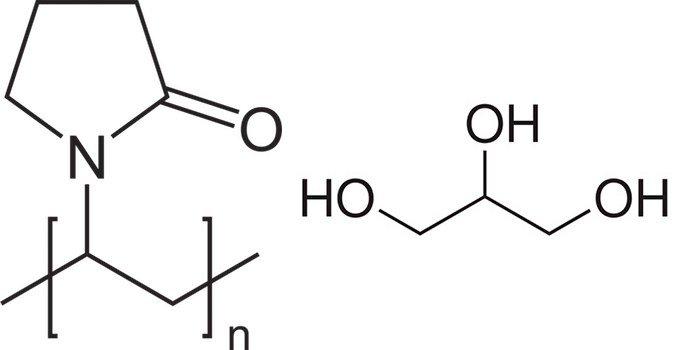 Формула повидона и глицерола