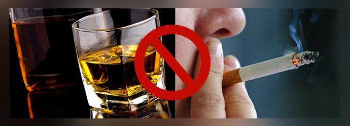 Нет курению и алкоголю
