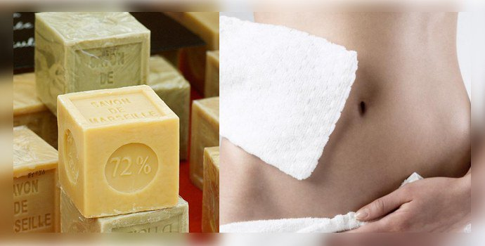 Подмывания с хозяйственным мылом