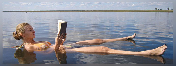 Избыток солей в озере