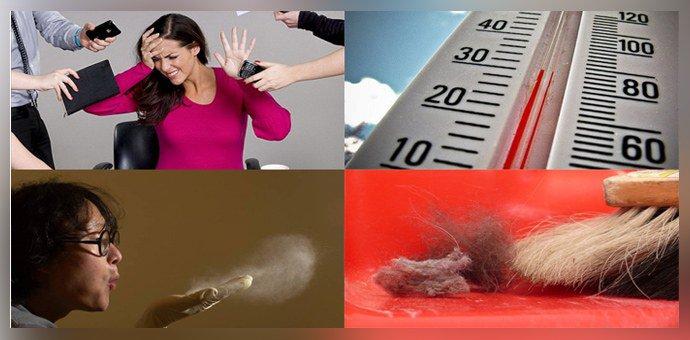 Возможные причины аллергической реакции