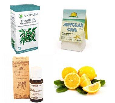 Ингредиенты для лечения
