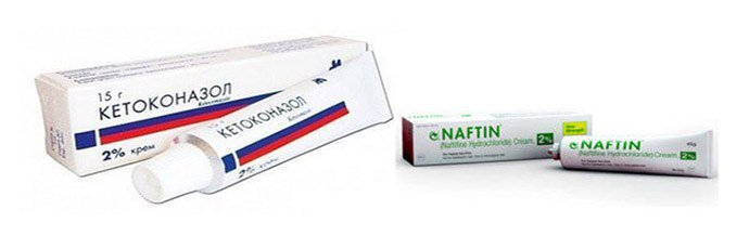 Кетоназол, Нафтифин