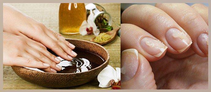 Маски и ванночки для ногтей