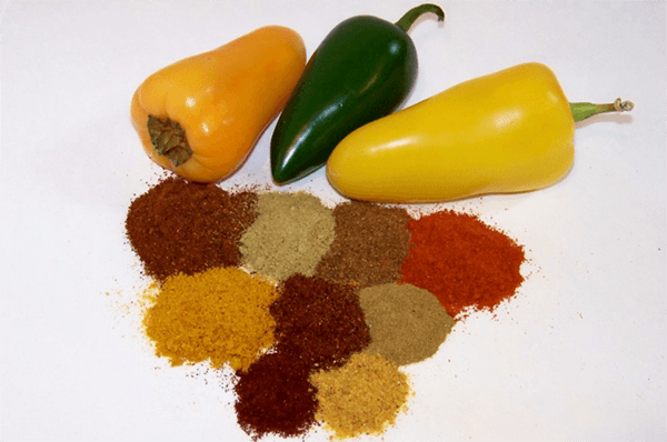 разнообразный перец