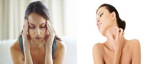 головная боль и зуд