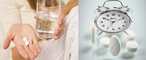 нужно запивать лекарство водой