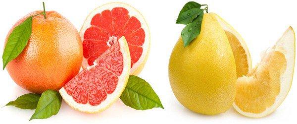 грейпфрут и помело