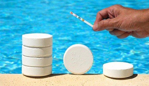 хлорка в басейне