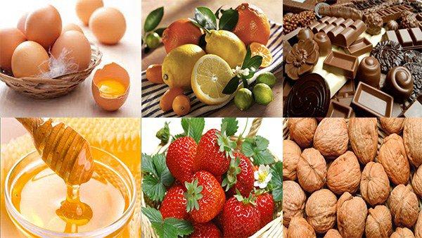 высокоаллергенные продукты