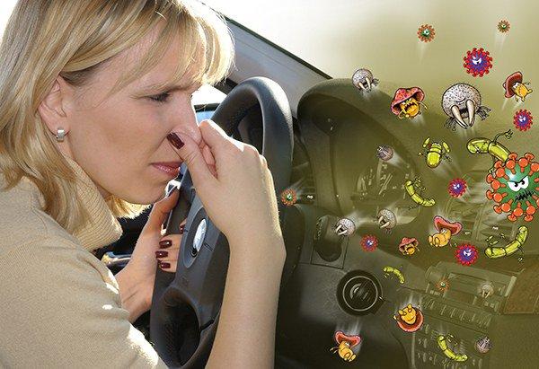 проявление аллергии на запахи