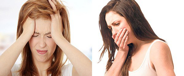 головная боль и тошнота при аллергии на мороз