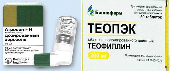 Блокаторы М-холинорецепторов