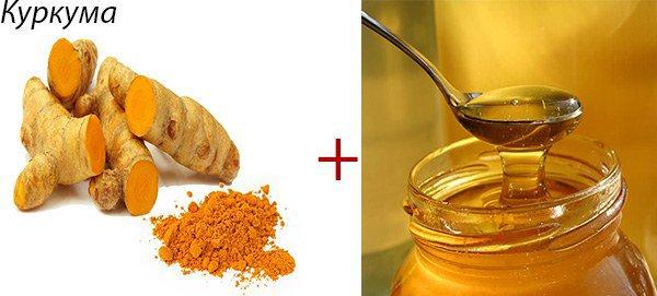 куркума и мед при астме