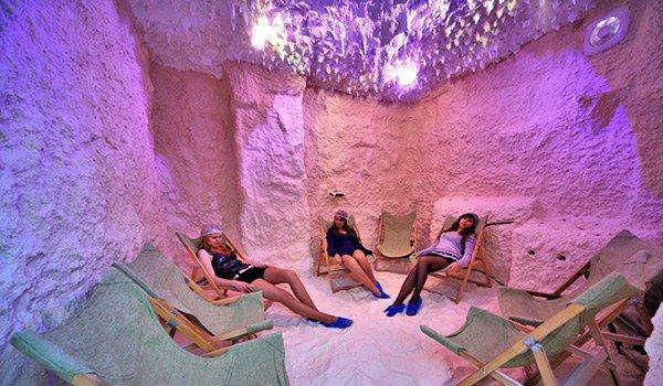 соляная пещера в Трускавце