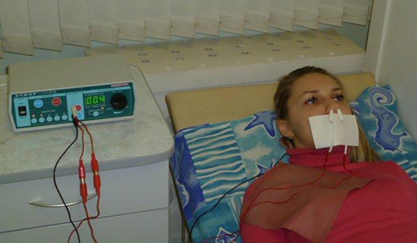 эндоназальный электрофорез