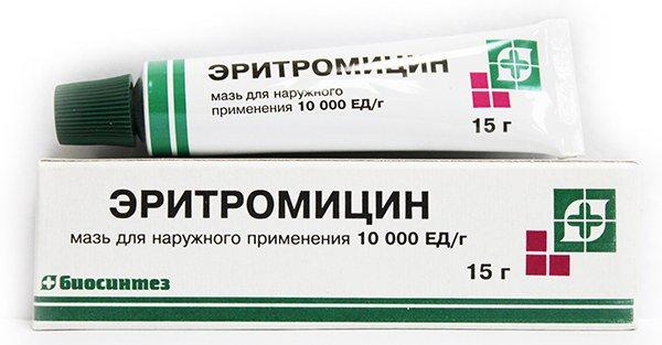 Эритромицин при атопическом дерматите