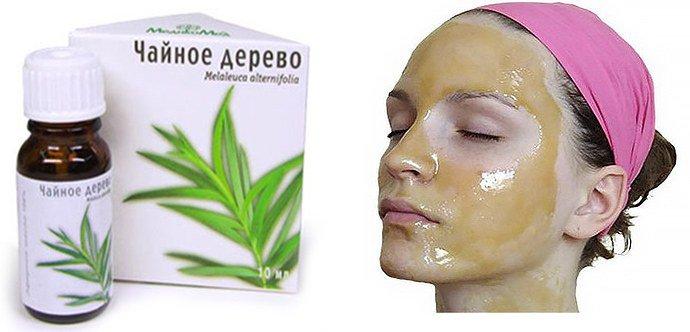 масло чайного дерева при себореи лица