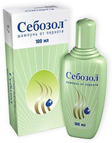 шампунь Себозол от псориаза