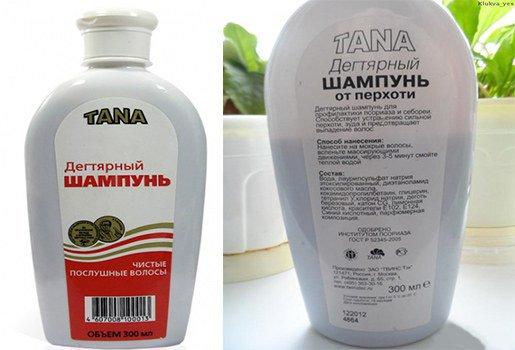 шампунь Тана от псориаза