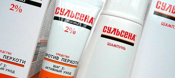шампунь Сульсена от псориаза